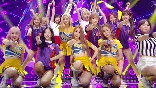 《EXCITING》 WJSN(Cosmic Girls) (우주소녀) - HAPPY @인기가요 Inkigayo 20170716