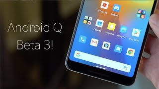 Android Q Beta 3: New Gestures and Dark Theme!
