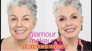 Glamorous Makeup for Mature Women - Full face tutorial
