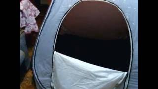 Утепляем палатку для зимней рыбалки