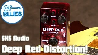 MusiWewe Red Distortion Pedal by SKS Audio