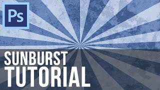 Sunburst Effect - Photoshop CS6 Tutorial