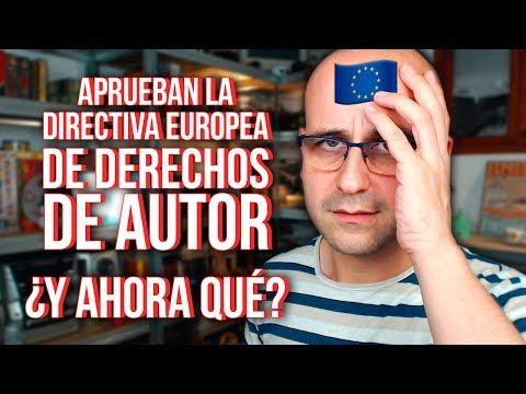 La Unión Europea aprueba la directiva de derechos de autor