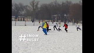 GIR Snow Rugby Festival Kicks Off In Almaty Kazakhstan #SnowRugby