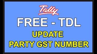 Tally Font Tdl Download