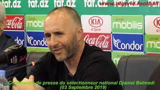 Point de presse de Djamel Belmadi à Sidi Moussa – Partie 2