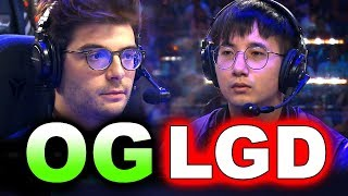 OG vs LGD - AMAZING SEMI FINAL - TI9 THE INTERNATIONAL 2019 DOTA 2