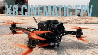 Cinematic X8 Build !! / 시네마틱 FPV X8 빌드