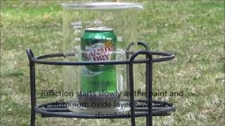 Dissolving An Aluminum Can In Sodium Hydroxide