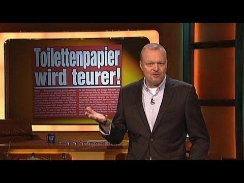 Toilettenpapier bald Luxusartikel - TV total