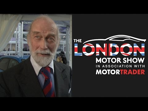Prince Michael of Kent interview at the 2016 London Motor Show