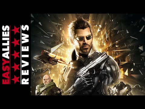 Deus Ex: Mankind Divided - Easy Allies Review - YouTube video thumbnail