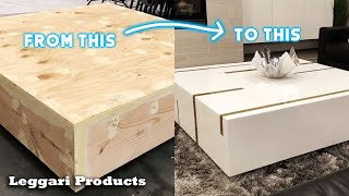 9 Amazing Epoxy Resin Furniture Projects You Can Do Yourself For Your Home | Resurface Old Furniture
