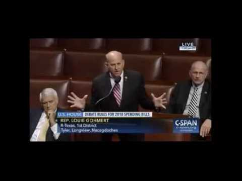Gohmert Speaks on The Need to Fund a Border Wall