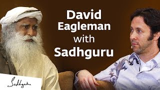 Neuroscientist David Eagleman with Sadhguru – In Conversation with the Mystic