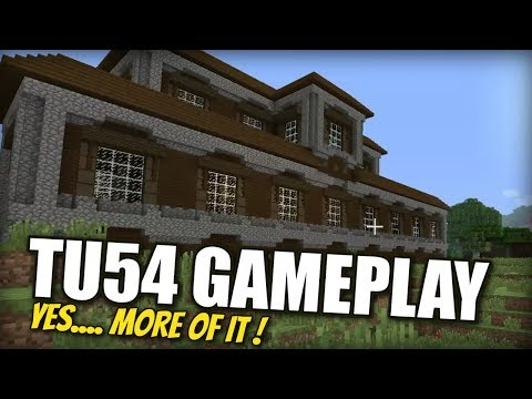 Minecraft PS4 – TU54 GAMEPLAY [ NEW ] Full Clip  – Xbox / PS3 / Switch