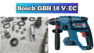 No percussion, Repair Hammer Drill Bosch GBH 18 V-EC