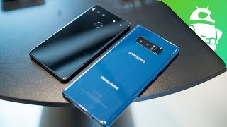 Samsung Galaxy Note8 vs Essential PH-1 Phone - Quick Look