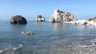 preview picture of video 'Paphos spiaggia di Afrodite'