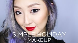 SIMPLE HOLIDAY MAKEUP