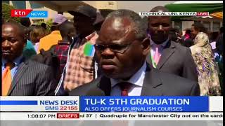 KTN News Desk - 21st December 2017: Technical University of Kenya's 5th Graduation