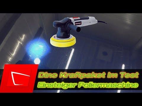 Dino Kraftpaket Exzenterpoliermaschie für Einsteiger - Liquid Elements T2000 Alternative