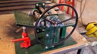 Rollenbiegemaschine selber bauen - Biegemaschine, Biegegerät