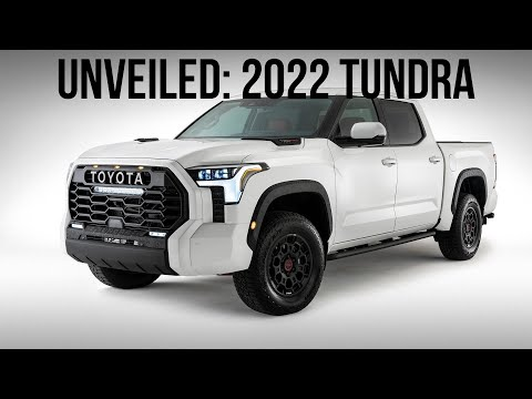 We FINALLY Know What The New 2022 Toyota Tundra Will Look Like!