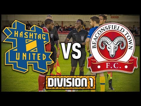 HASHTAG UNITED vs BEACONSFIELD TOWN - DIVISION 1