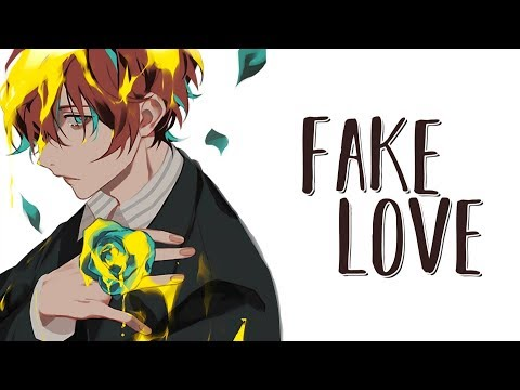 DOWNLOAD: Nightcore - Fake Love (English Version) BTS