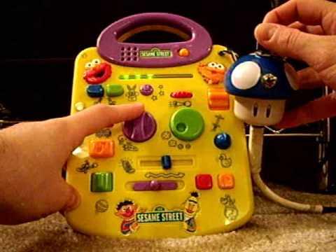 Circuit Bent Sesame Street Toy