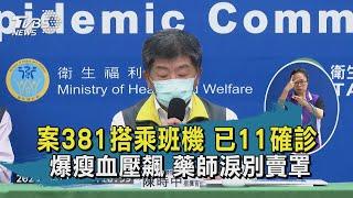【TVBS新聞精華】20200410 案381搭乘班機 已11確診 爆瘦血壓飆 藥師淚別賣罩