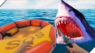 МЕНЯ БРОСИЛИ В ОКЕАНЕ или Raft 2.0 - Bermuda Lost Survival