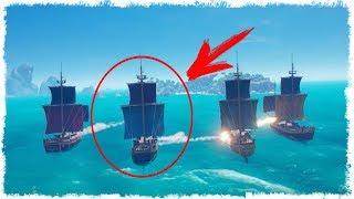 ЗДЕСЬ НЕ ВЫЖИТЬ!!! КОРОЛЕВСКАЯ БИТВА В SEA OF THIEVES!!!