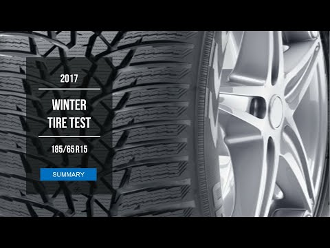 2017 Winter Tire Test Results | 185/65 R15
