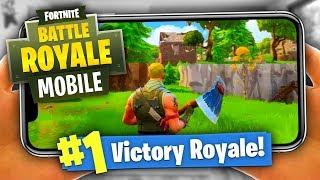 How To WIN Fortnite Battle Royale on MOBILE