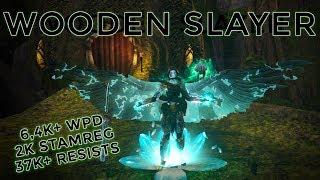 eso stamina warden pvp bow build - TH-Clip