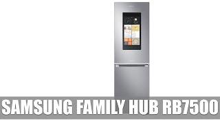 Samsung Family Hub RB7500 Kühlschrank mit Tablet vorgestellt