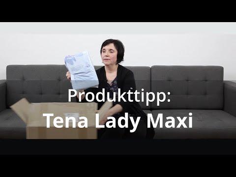 Produkttipp: Tena Lady Maxi - Inkontinenzeinlagen für Frauen