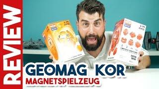 GEOMAG - KOR Lustige Figuren aus Magnetspielzeug | Spielzeugwelten