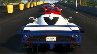 NYC to LA -The Crew 2 ONLINE w/Friends : LONGEST Road Trip Race! (GONE WRONG)   SLAPTrain