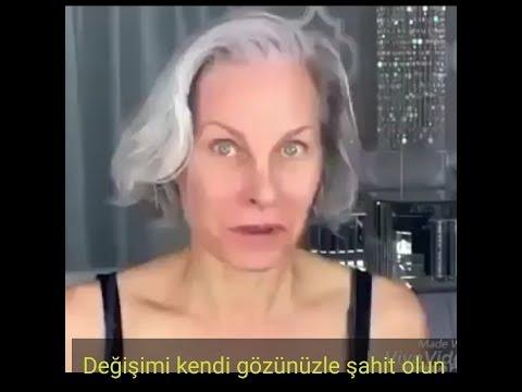 Yaşlı Kadın Makyajla 20lik Kız Oluyor