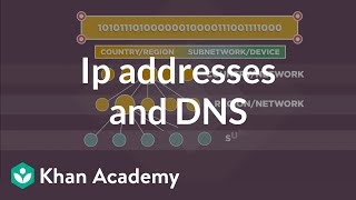 IP addresses and DNS | Internet 101 | Computer Science | Khan Academy