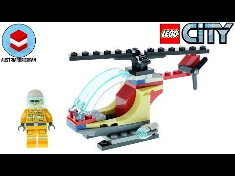 Vidéo LEGO City 30566 : L'hélicoptère des pompiers (Polybag)