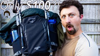 Osprey HikeLite 26 Daypack First Impressions Review - Best hiking backpack for only $100?