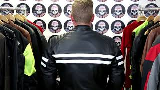 Odin's Thunder Classic Leather Motorcycle Jacket