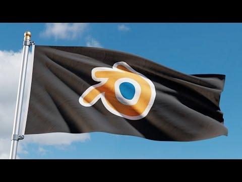 Blender Beginner Tutorial: Animated Flag