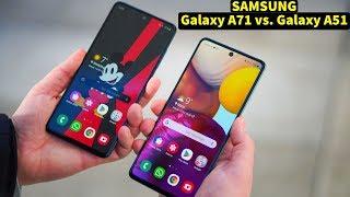 Samsung Galaxy A71 vs. Galaxy A51 - Smartphone Vergleich | CH3 Test Review Deutsch