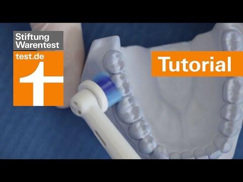 Tutorial: Richtig Zähne putzen - per Hand und elektrisch (Zahnputztechnik)