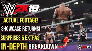 WWE 2K19: RETURNING MODE, OFFICIAL FOOTAGE, Surprises, Extras & More! (#WWE2K19 In-Depth BREAKDOWN)